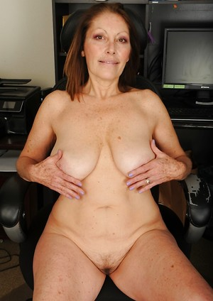 Naked grandma shaved valuable